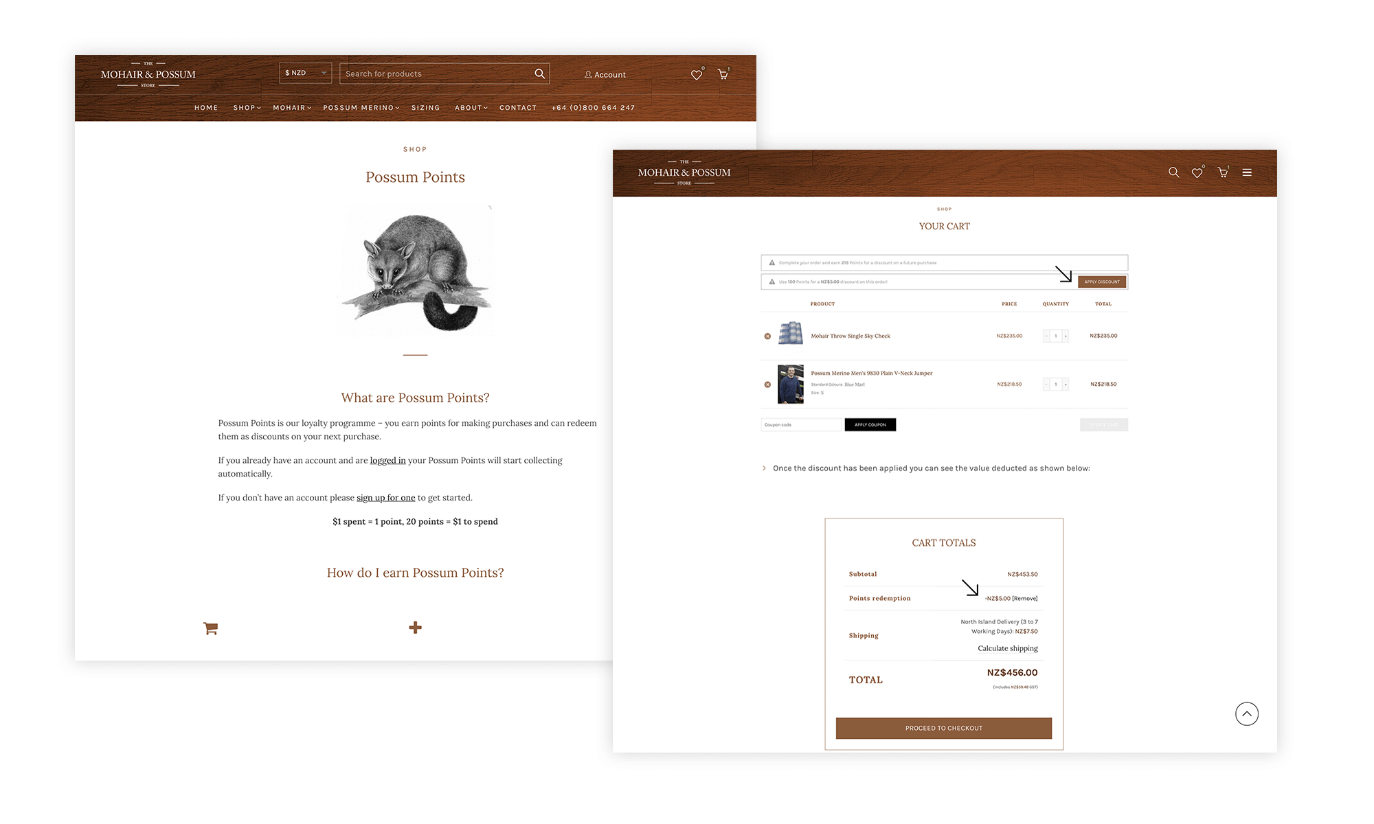 Mohair: Ecommerce Website Design